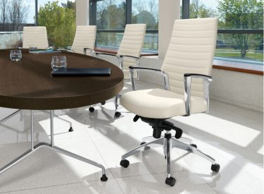 Global Accord Conference Chair Upholstered Back