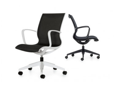 Global Solar Mesh Seat Back with Arms