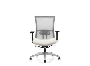 """Global """"Vion"""" Mesh Back Upholstered Seat"""