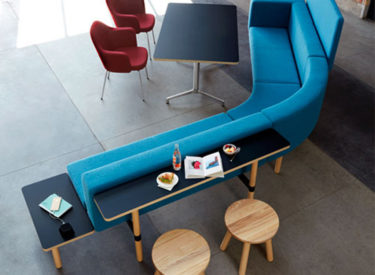 """Keilhauer """"Visit Sip Collo Juxta"""" Lounge and Table"""
