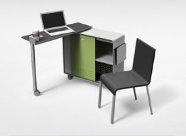 "Peter Pepper ""Axcess"" Mobile Desk"