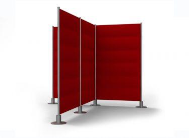 """Peter Pepper """"Slalom"""" Freestanding Acoustical Panel"""