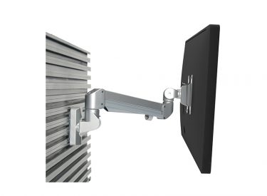 Edge Single Monitor Arm – Rail Mount