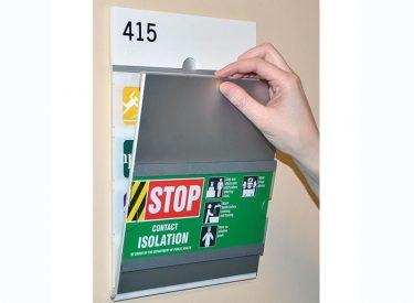 Healthcare Alert Flip Signage