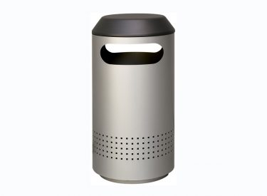 "Peter Pepper ""Timo Round"" Trash & Recycling Receptacle"